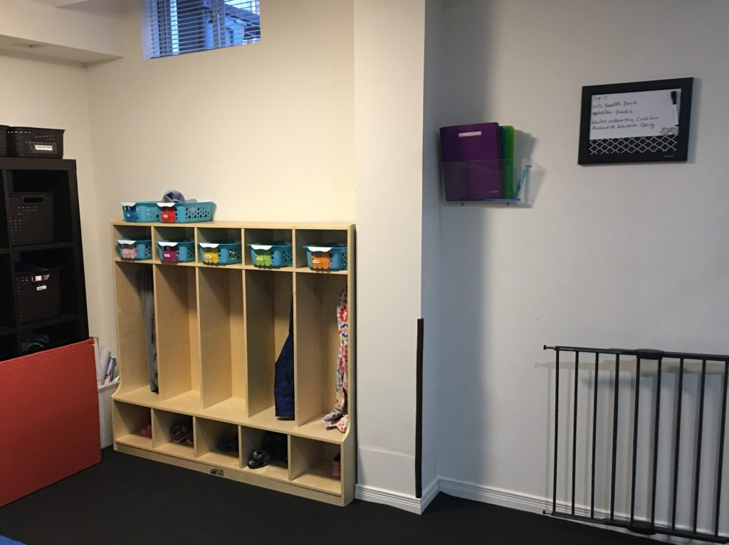 Cubby area